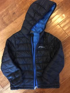 Eddie Bauer size 6/7 we loved this coat runs small
