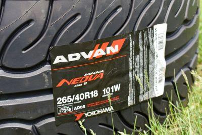 2 BRAND NEW Yokohama ADVAN Neova AD08R Tires 265/40/18 Porsche 911 Boxster Cayman