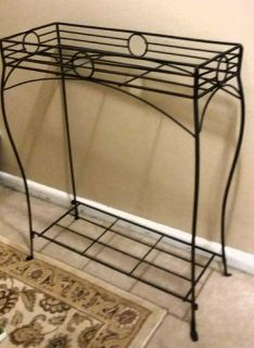 (WROUGHT IRON) PLANT STAND......EXCELLENT CONDITION