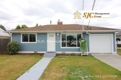 One story house for rent in downtown Puyallup.