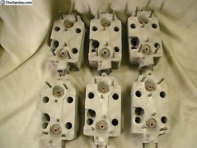 Six 911t 2.2 2.4 Cylinder Heads