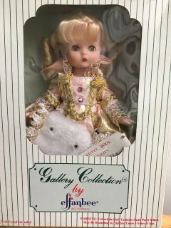 1992 Effanbee Doll Gallery Collection Cinderella Unused