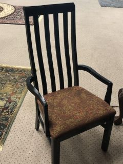 Accent chair wood $40