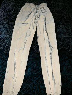 Fluorescent reflective pants