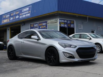 2013 Hyundai Genesis Coupe 3.8 R-Spec (Silver)