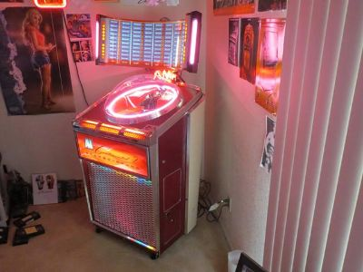 1962 Ami Continental 2 Stereo Amp Jukebox, with Stereo Round and 3345 Automix