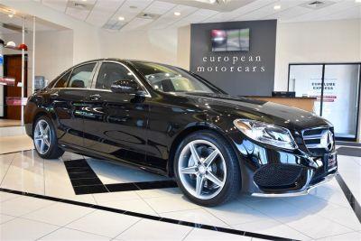 2016 Mercedes-Benz C-Class C 300 Sport 4MATIC (Jet Black)