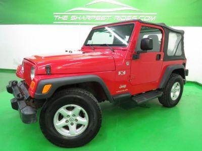 2005 Jeep Wrangler X 4X4
