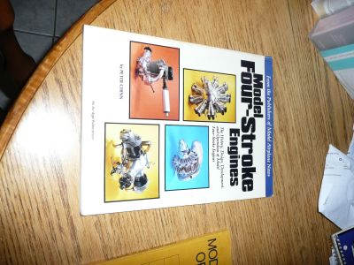 MODEL Four-Stroke Engines Book's