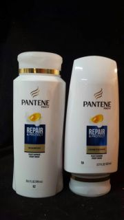 Pantene repair and protect shampoo and conditioner set large bottles