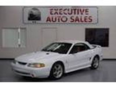 Used 1998 Ford Mustang Cobra Convertible