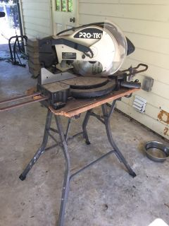 Electric Miter saw with stand
