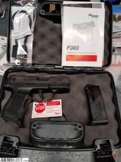 For Sale: Sig Sauer P365