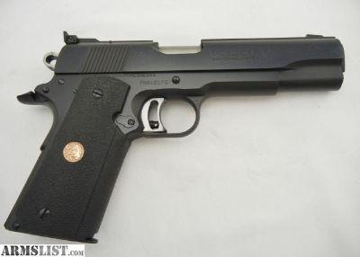 For Sale: Colt 1911 Gold Cup Enhanced 45ACP NIB