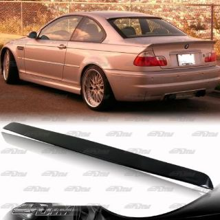 Buy ABS plastic Rear Roof Window Visor Spoiler Wing For 1999-2005 BMW 3-Series Coupe motorcycle in Rowland Heights, California, United States