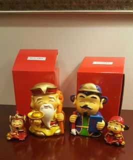 Chinese Decoration set of 4