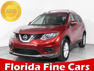 2015 Nissan Rogue SV (red)