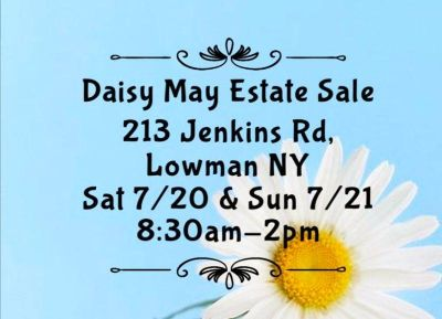 Daisy May Estate Sale