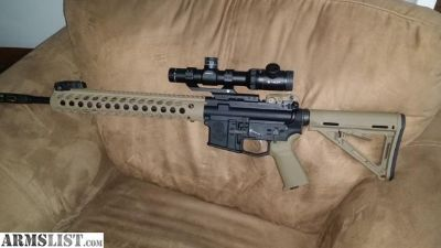 For Sale: Smith and wesson magpul troy edition ar15
