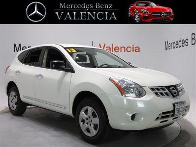 2013 Nissan Rogue SL (Pearl White)