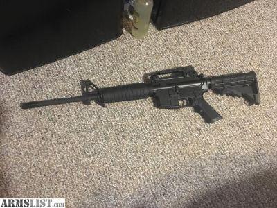 For Sale/Trade: Bushmaster Xm patrolman