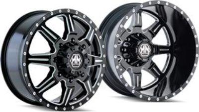 MAYHEM monstir 17 inch wheels set of 4