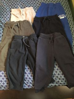 24 month boys pants 6 pairs