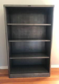 Vintage Steel McDowell & Craig Bookcase #1