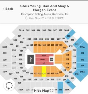 4 Tickets - Chris Young / Dan + Shay