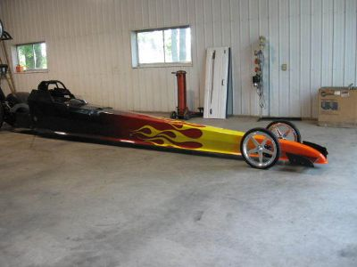 Top Dragster & Trailer