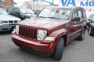 2008 Jeep Liberty Sport (Inferno Red Crystal Pearl)