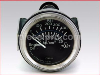 Purchase NEW HEAVY DUTY Oil Pressure Gauge, Electrical, 24 volt - 0 to 400 PSI motorcycle in Miami, Florida, United States, for US $36.50