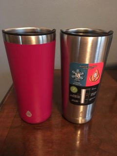 TAL stainless steel travel coffee cups