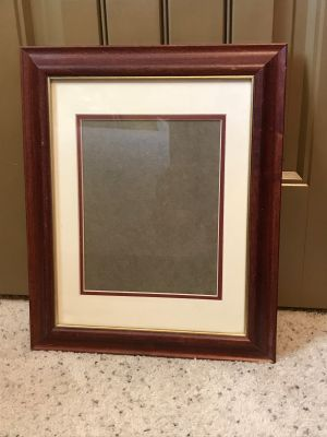 11 x 14 Wood Frame with Glass & Mat