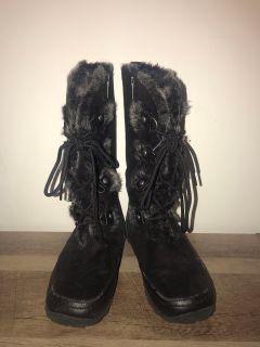 Nine West Black boots, size 5 Women s