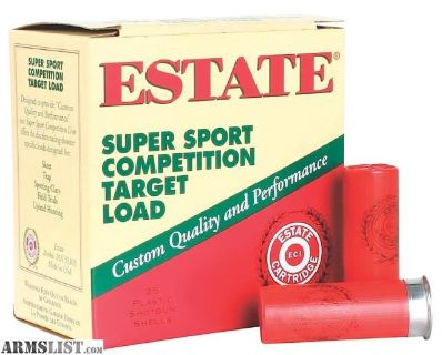 For Sale: Estate SS12H1 Super Sport Target 12 ga 2.75 1 oz 7.5 Shot 25Box/10Case, no credit card fees,Flat rate shipping is $14.95 for unlimited ammo