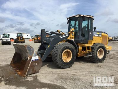 2014 John Deere 524K Wheel Loader