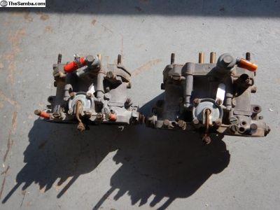 Dellorto Dual 45 Drla Carburetors