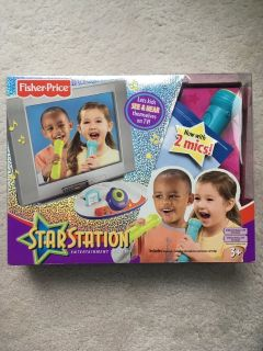 Fisher Price Star Station Microphone