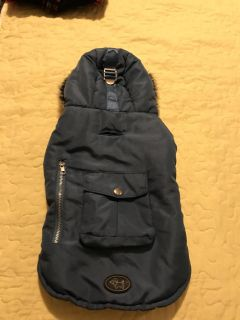 Dog jacket size small good condition