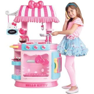 **EUC Hello Kitty Kitchen Cafe EXCELLENT CONDITION w/accessories!! CHRISTMAS!
