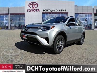 2018 Toyota RAV4 Hybrid LE (Silver Sky Metallic)