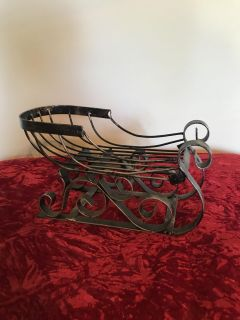 Heavy Metal Sleigh with an Antique Look