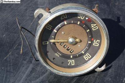 11 1957 1958 Speedometer Speedo Clear Needle