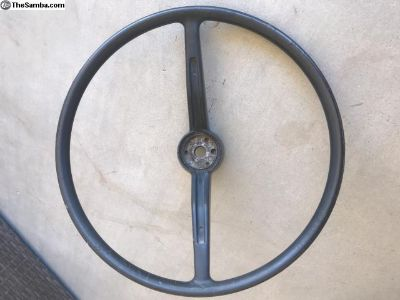 66 Type 3 steering wheel