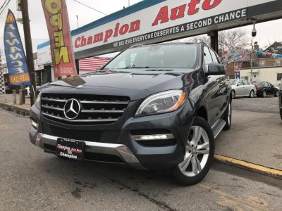 2015 Mercedes-Benz M-Class 4MATIC 4dr ML350 (Steel Gray Metallic)