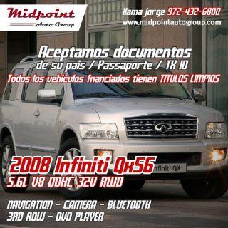 Infiniti QX56 RWD 2008