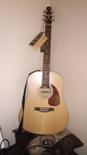 Brand New Seagull S6 Acoustic Guitar with tags and box