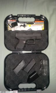 For Sale: Glock 26 (part trade for a car)