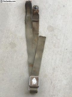 Stock original drivers side bus seat belt (1 only)